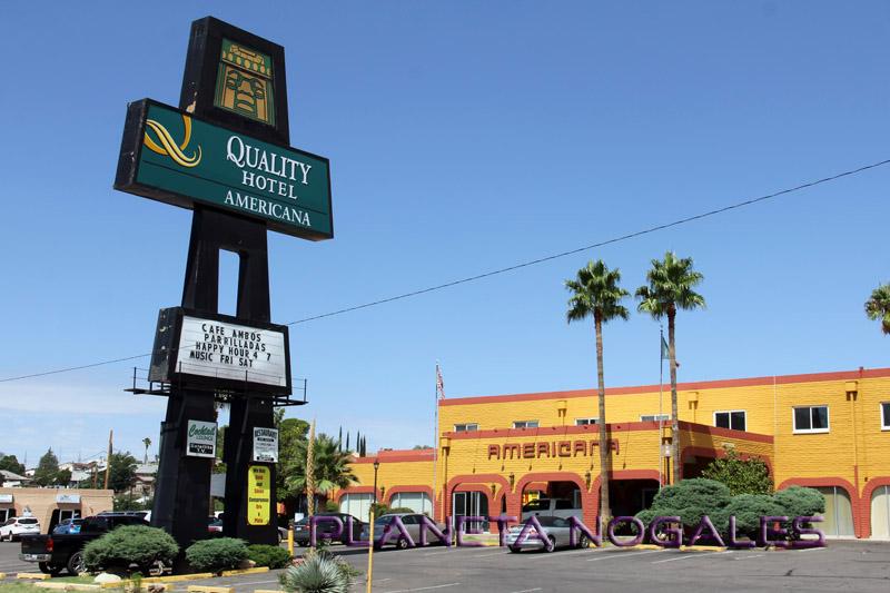 nogales arizona quality hotel americana