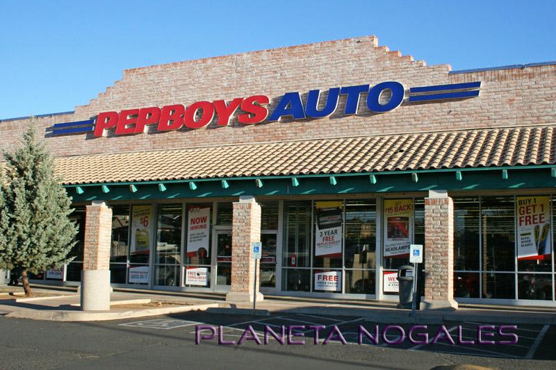 Pep Boys servicios del auto en nogales arizona