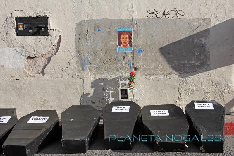 Lugar donde José Antonio Elena Rodríguez fue baleado por un agente de la patrulla fronteriza.