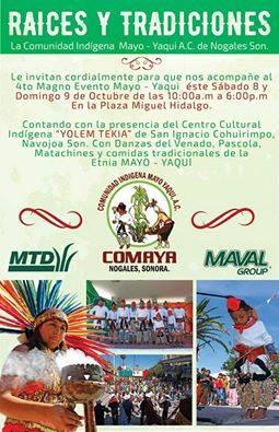 Nogales Mayo y Yaqui Raices y Tradiciones