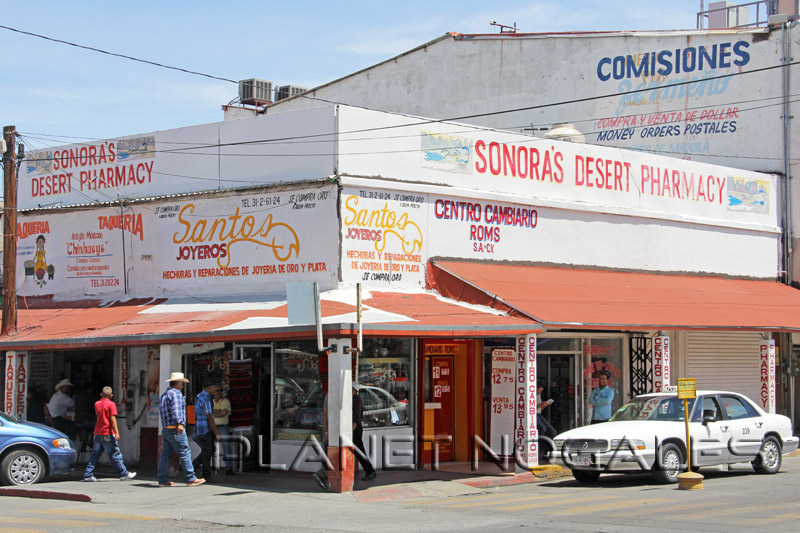 Sonoras Desert Pharmacy in Nogales Mexico